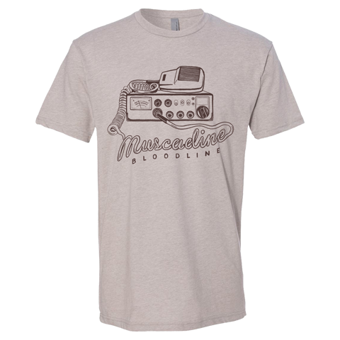CB Radio Tee - Tan