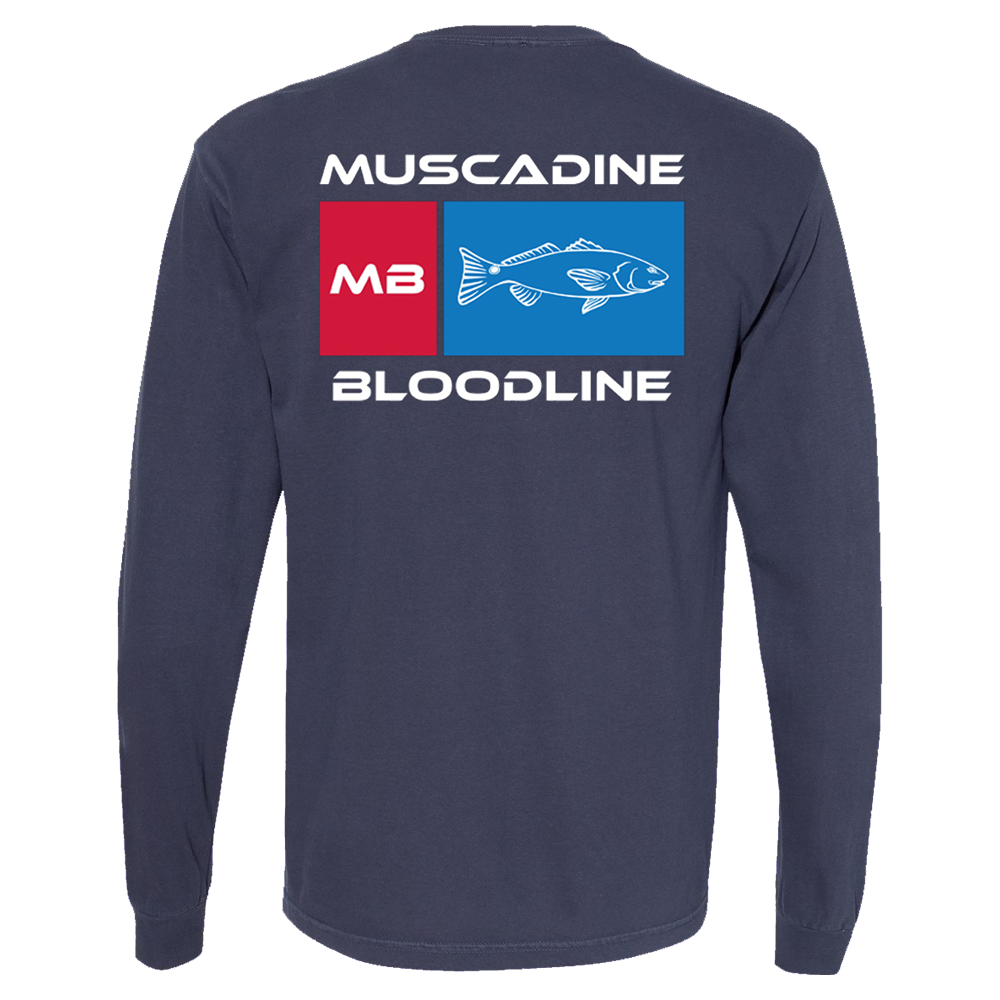 MB Red Fish Long Sleeve