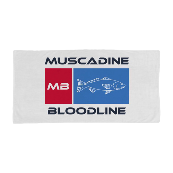 MB Fish Beach Towel Pre-Order