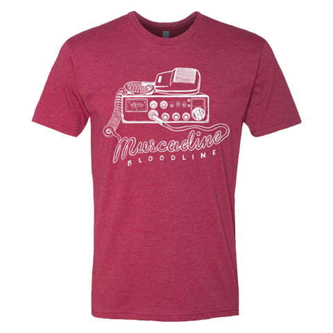 CB Radio Tee - Red