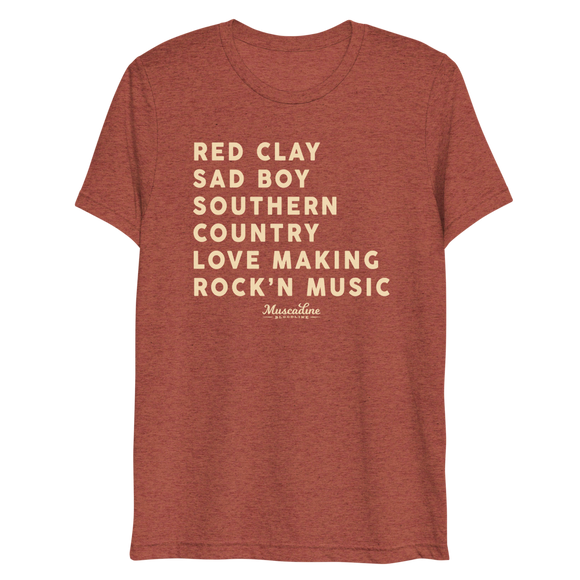 Red Clay Country Tee