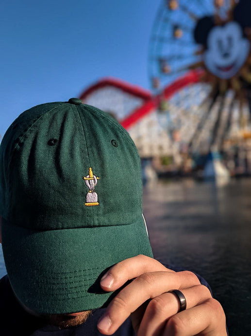 H+D Dad Hat - Hook + Dagger