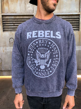 Load image into Gallery viewer, Rebels Crewneck - Hook + Dagger