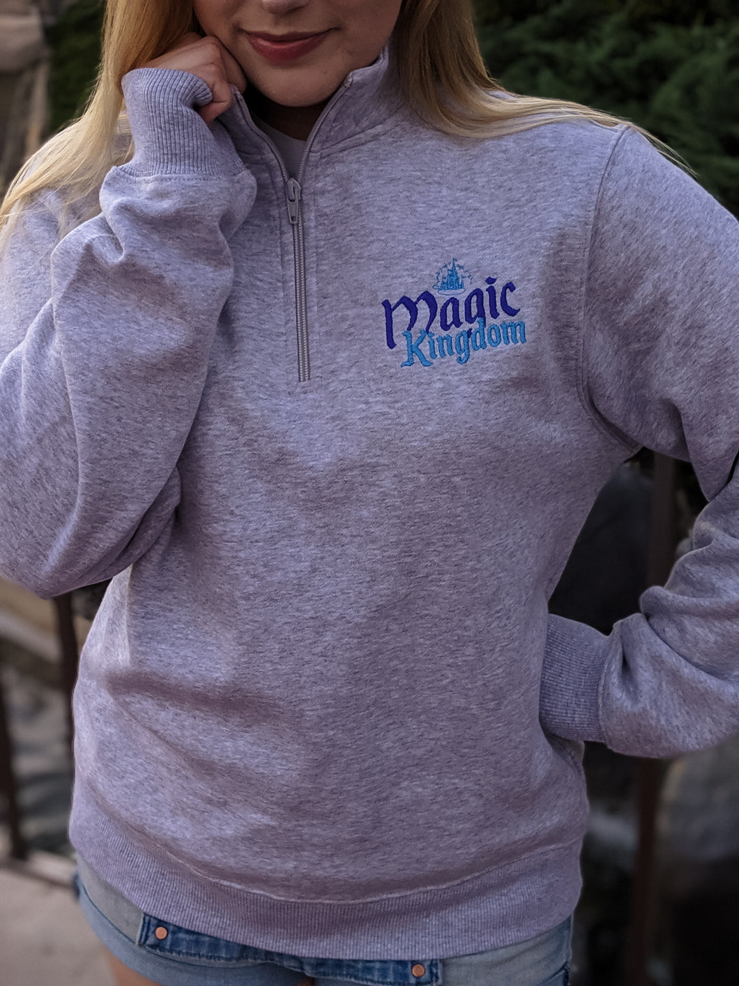 Magic Kingdom Quarter Zip Sweatshirt - Hook + Dagger