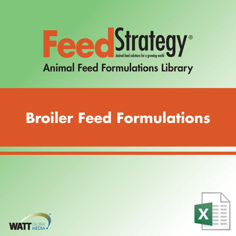 Broiler Feed Formulations