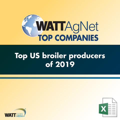 Top US broiler producers of 2019
