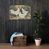 Lamonas Heritage Poultry Painting Canvas Print
