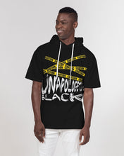 Load image into Gallery viewer, Unapologetically Black Short Sleeve Hoodie