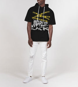 Unapologetically Black Short Sleeve Hoodie