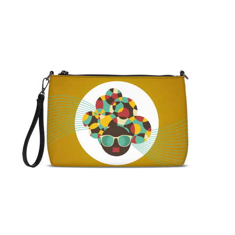 Color Wheel Queen Clutch