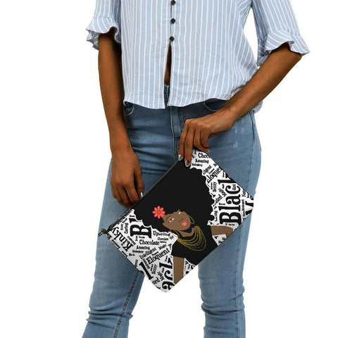 Black Girl Magic Clutch