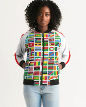 Load image into Gallery viewer, African Pride Bomber Jacket