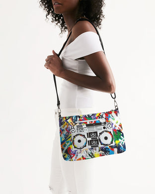 Graffiti Retro Clutch