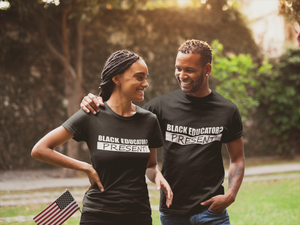 Men's & Women's Black Educator - T-shirt