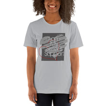 Load image into Gallery viewer, Women's I am my sister's support - Short-Sleeve T-Shirt