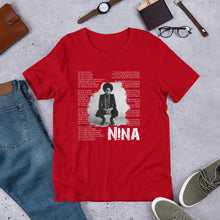 Load image into Gallery viewer, Men's and Women's Nina Simone - Short-Sleeve Unisex T-Shirt