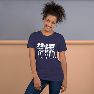 Cause I Got All My Sistas With Me - Short-Sleeve T-Shirt