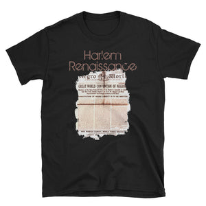 Men's and Women's Harlem Renaissance - Short-Sleeve Unisex T-Shirt
