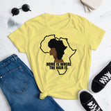 Home Is Where The Hair Is T-Shirt