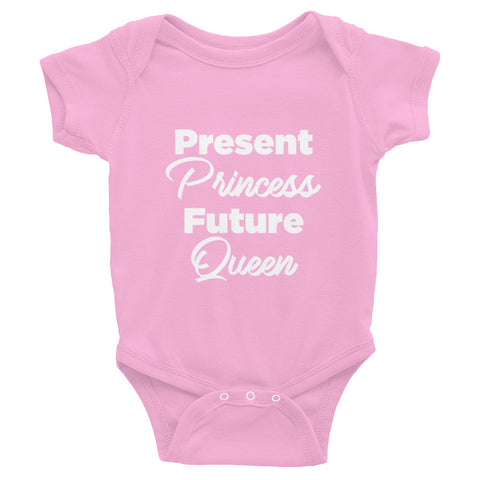 Present Princess, Future Queen Onesie