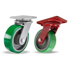 INDUSTRIAL CASTERS for a COLD ENVIRONMENT