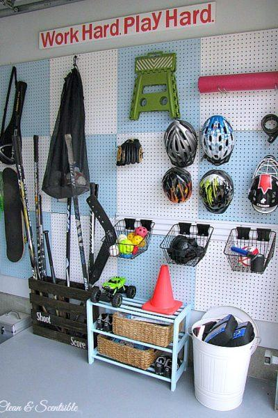 Garage Organisation and Cleaning {July HOD}