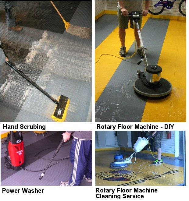 Cleaning Your GarageTek Modular Floor