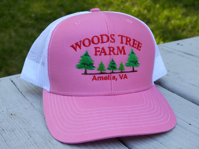 Pink/White Trucker Hat
