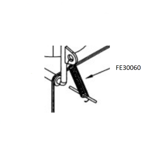 FE30060 : Tension Spring for a 4