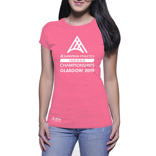 Ladies Graphic Tee EAIC PinK