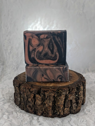 Rose Clay and Activated Charcoal Face Soap