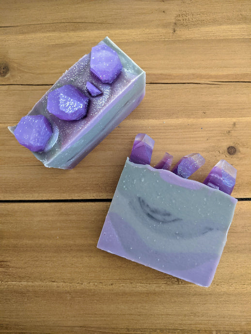 Astral Amethyst Artisan Soap Bar