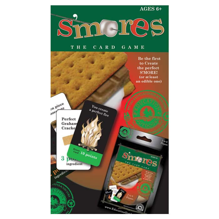 Education Outdoors: S'mores - The Card Game