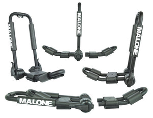 Malone: FoldAway-5 Multi Rack Folding 1 or 2 Kayak
