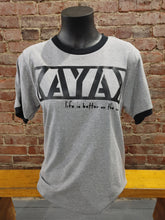 Load image into Gallery viewer, Carried Away Outfitters: Grey Kayak T-Shirt