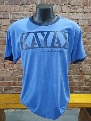 Carried Away Outfitters: Blue Kayak T-Shirt