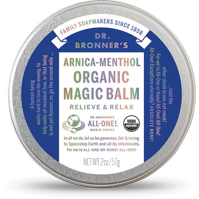 Dr. Bronner's: Arnica-Methol Organic Magic Balm