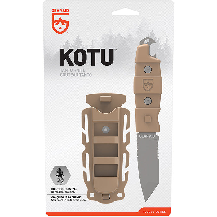 Gear Aid: Kotu Tanto Survival Knife