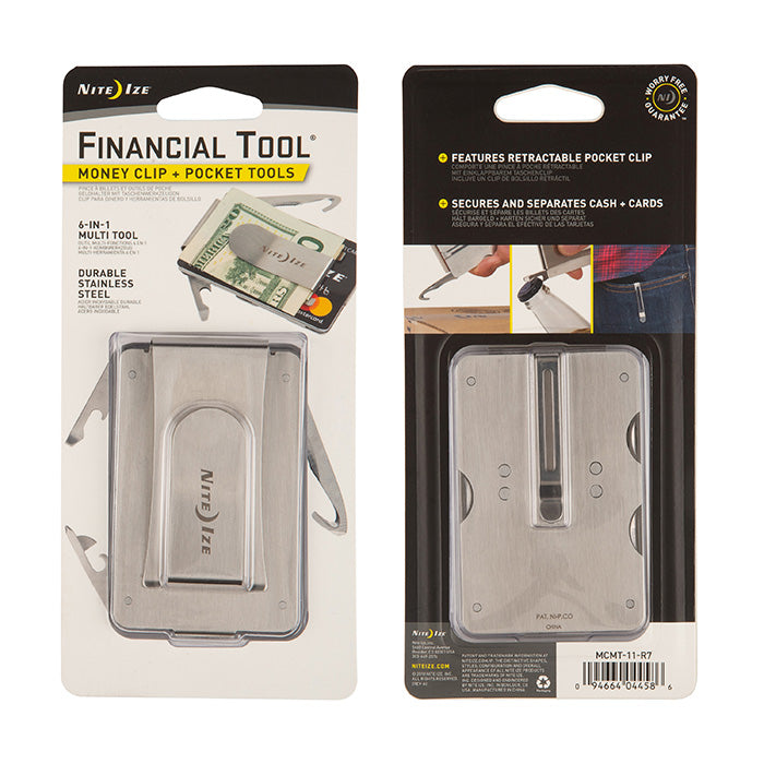 Nite Ize: Financial PocketTool Stainless