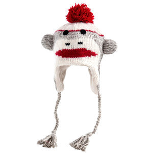Nirvanna Designs: Cute Sock Monkey Hat