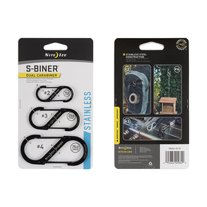 Nite Ize: S-biner Stainless Steel