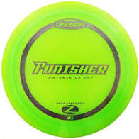 DISCRAFT:  Punisher,  Distance driver