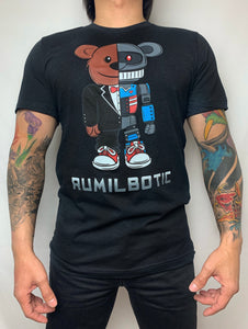 RUMILBOTIC Ruly Emil Unisex Charcoal Gray T-Shirt