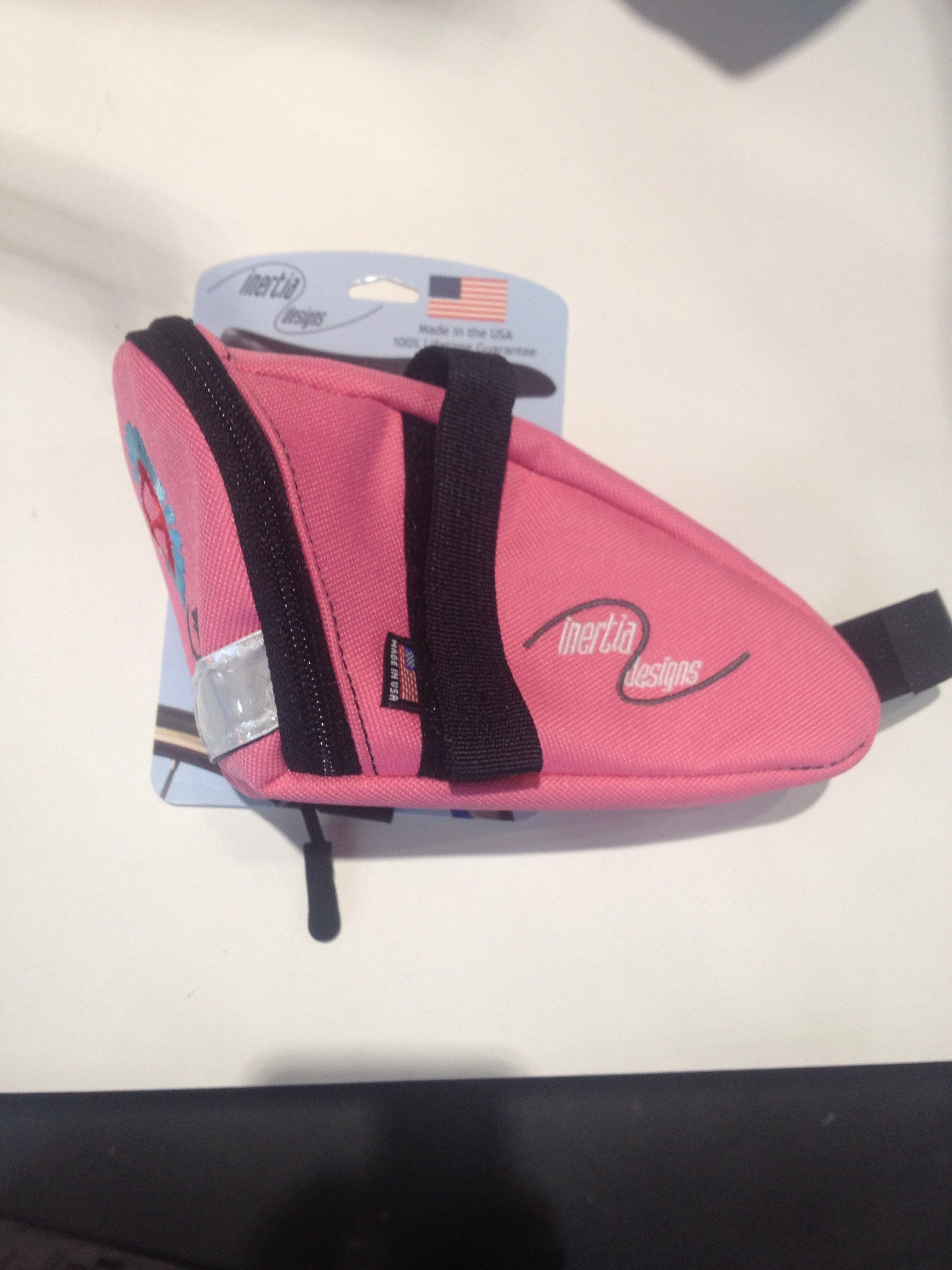 Pedal Chic Cargo Wedge Saddle Bag - Pink