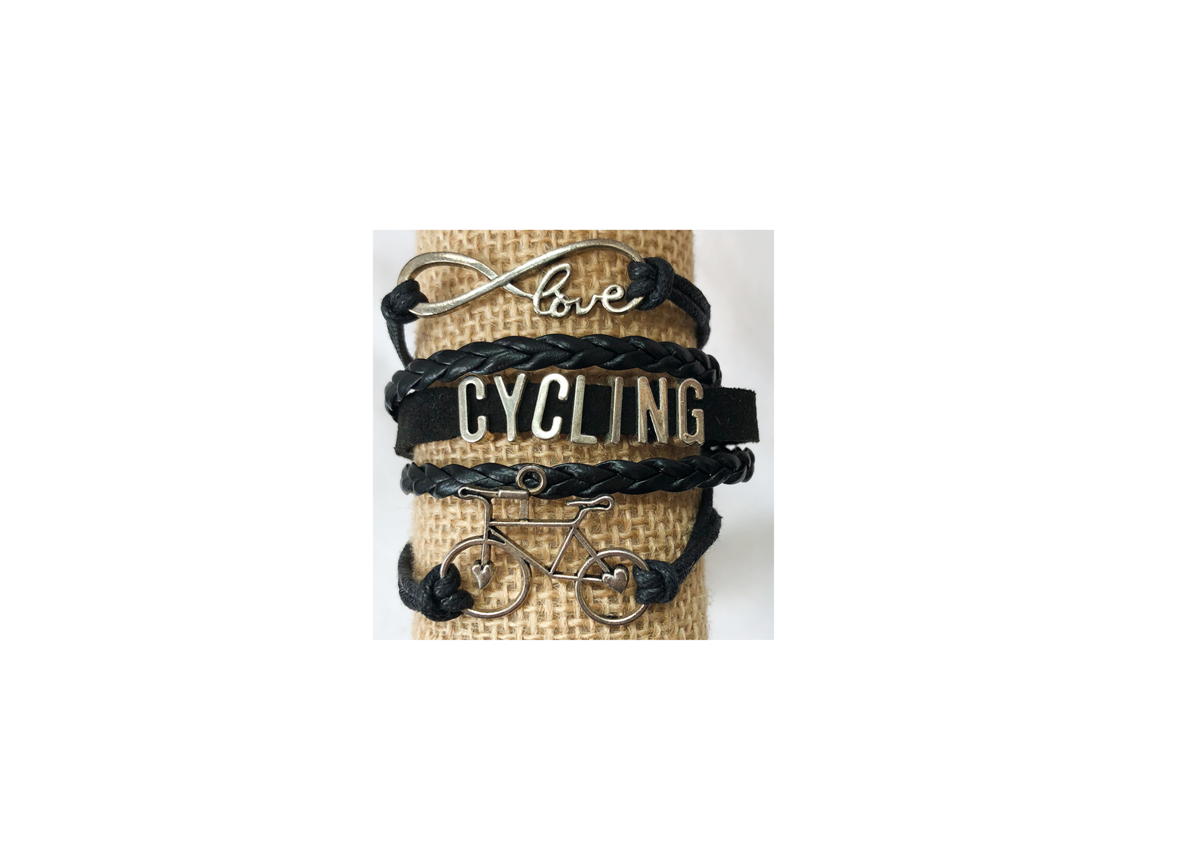 Cycling Bracelet - Pedal Chic