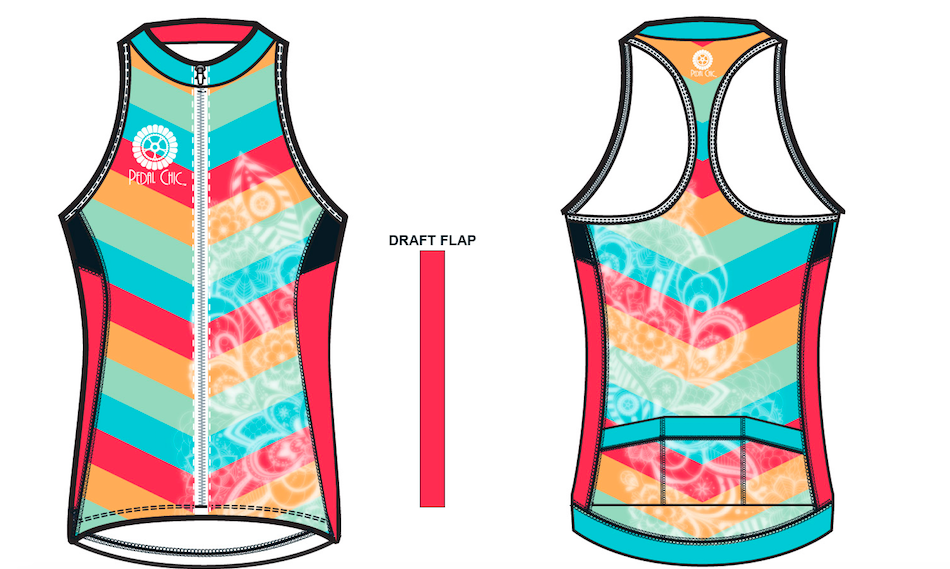 Pedal Chic 2017 Tank Jersey
