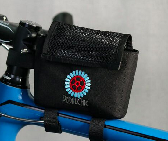 Pedal Chic Tri Bag Black