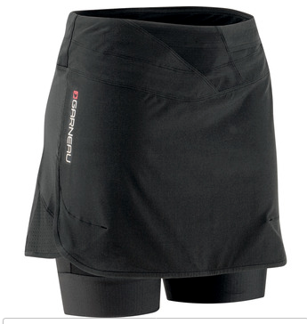 Louis Garneau Women's Rio Skort: Black MD