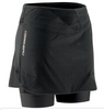 Louis Garneau Women's Rio Skort: Black