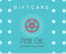 Pedal Chic Gift Card $25 - 500